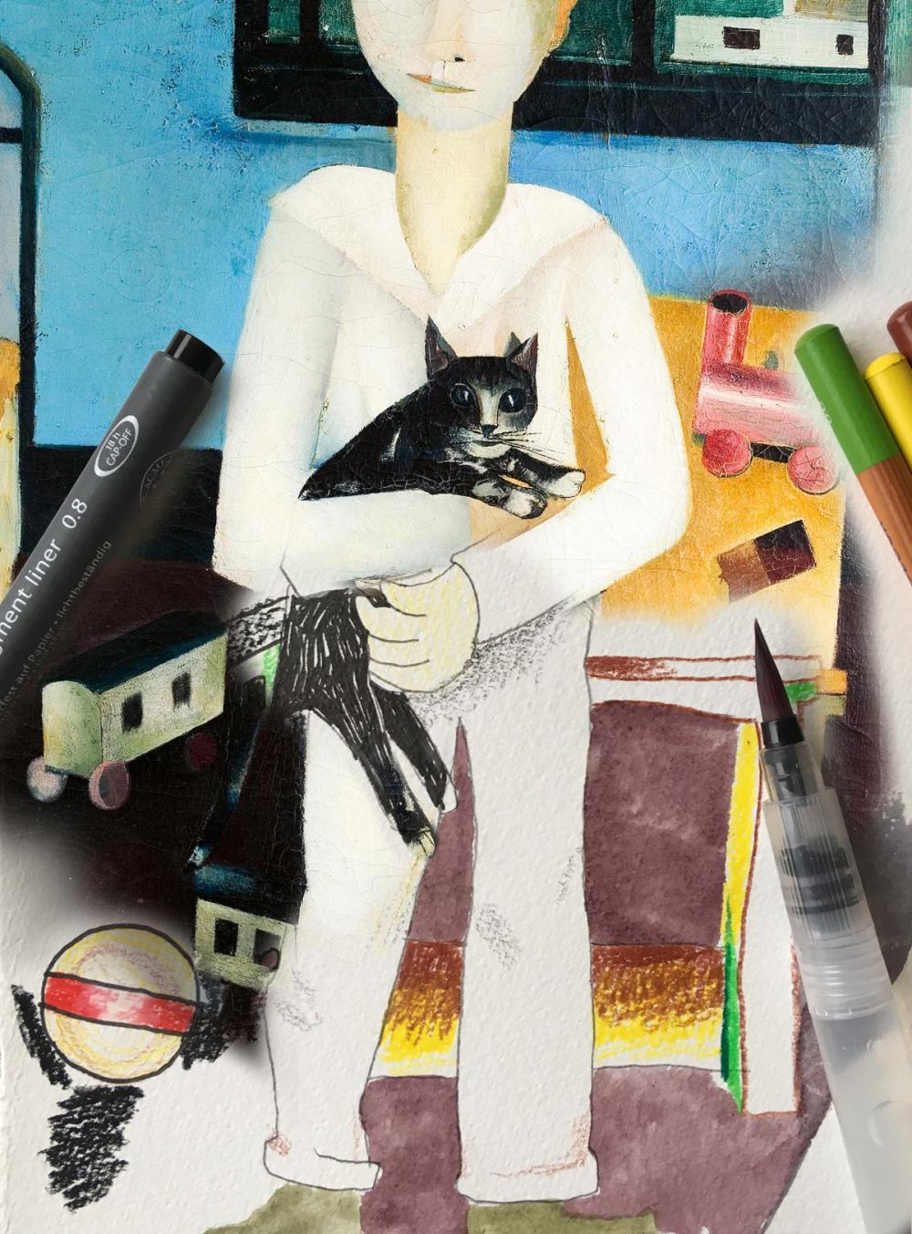 Tekenen op zaal met Sanne Beemsterboer